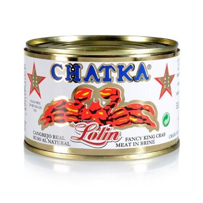 Cangrejo real ruso al natural Chatka Lolin