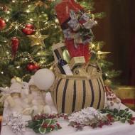 Cesta de Navidad Muérdago