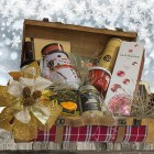 Cesta de Navidad Ciclamen